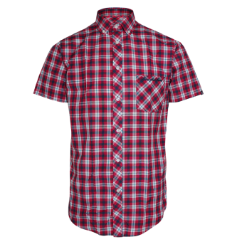 "SotS ""Wallasey"" Button Down Hemd (red)"