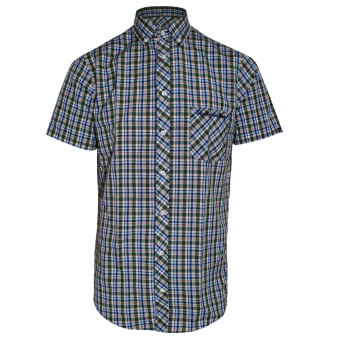 "SotS ""Fairfield"" Button Down Hemd (green/white)"