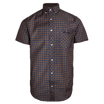 "SotS ""Rampside"" Button Down Shirt (brown)"