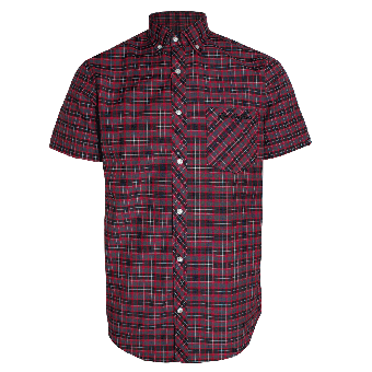"SotS ""Boot"" Button Down Shirt (black/red)"