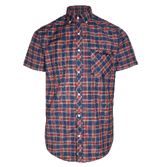 "SotS ""Wanderlust"" Button Down Shirt (blue/red)"