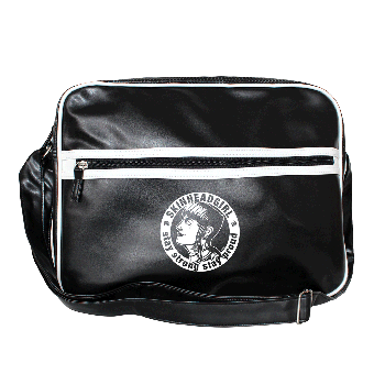"""Skinheadgirl - Stay strong"" Retro Bag"