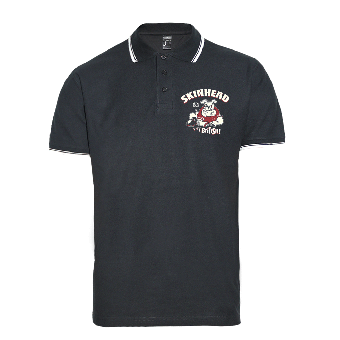 "Skinhead Bulldog ""Very British!"" Polo-Shirt"