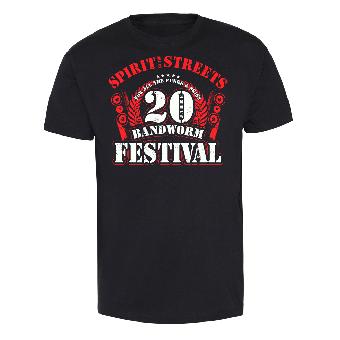 20 Jahre Bandworm Festival 2015 T-Shirt