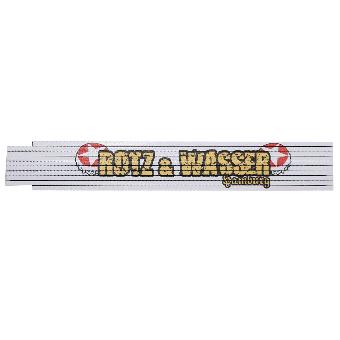 "Rotz & Wasser ""Logo"" Zollstock"