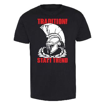 Tradition! statt Trend T-Shirt (schwarz)