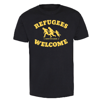 "Refugees welcome ""Bring your families"" T-Shirt"