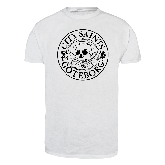 "City Saints ""Logo classic"" T-Shirt (white)"