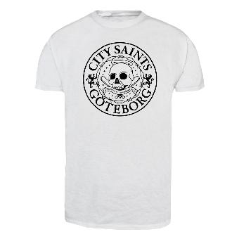 "City Saints ""Logo classic"" T-Shirt (white)"