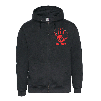 "Berliner Weisse ""High Five"" zip hoody"