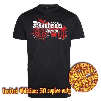 "Traditional Skinheads ""Bremen"" T-Shirt (lim. 50)"