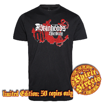 "Traditional Skinheads ""Hamburg"" T-Shirt (lim. 50)"