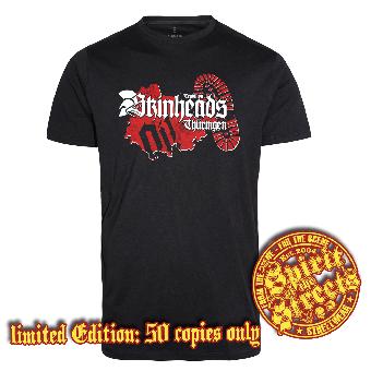 "Traditional Skinheads ""Thüringen"" T-Shirt (lim. 50)"