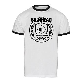 "Oi!ropameister 2016 ""Skinhead Traditional"" Ringer Shirt"