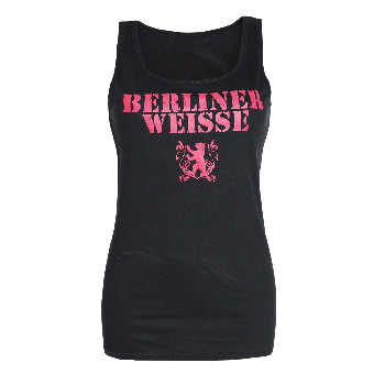 "Berliner Weisse ""Big Logo"" Girly Tank Top"