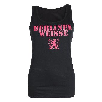 "Berliner Weisse ""Big Logo"" Girly Tank Top"