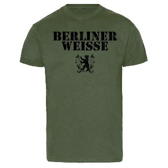 """Berliner Weisse """"Big Logo"""" T-Shirt (olive)"""