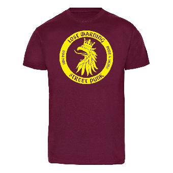 """Lost Warning """"Ska°ne Vapen"""" T-Shirt (bordeaux)"""