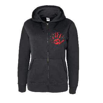 "Berliner Weisse ""High Five"" Girly Zip Hoody"
