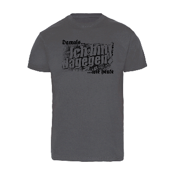 "Damals wie heute ... ""Ich bin dagegen!"" (black print) T-Shirt"