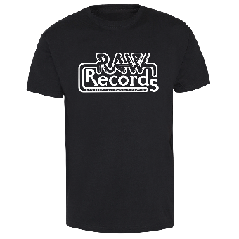 "RAW Records ""Raw Punk Rock for raw People"" T-Shirt"