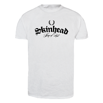 "Skinhead ""Way of Life"" T-Shirt (white)"