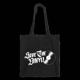 Save the Vinyl - Baumwoll Stoffbeutel (lang)