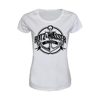"""Rotz & Wasser """"Nachts um halb 4"""" Girly Shirt (white)"""