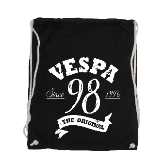 "Vespa ""98"" Cotton Gym Bag"