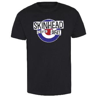 "Skinhead ""Mod"" T-Shirt (black)"