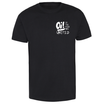 Oi! If the kids are united 2 (small/white) T-Shirt