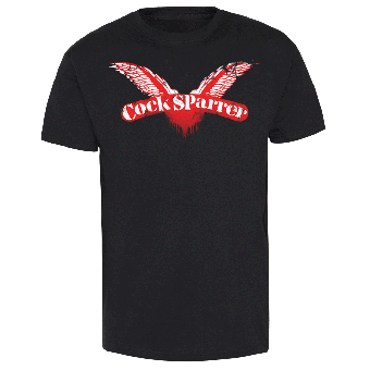 "Cock Sparrer ""Distortion Logo"" T-Shirt"