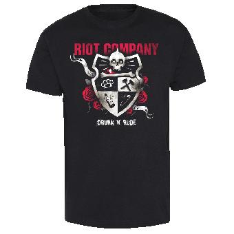 "Riot Company ""Drunk`n`Rude"" T-Shirt"