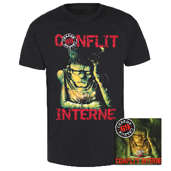 "Charge 69 ""Conflit Interne"" T-Shirt + CD"