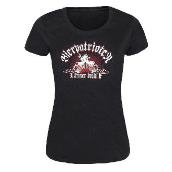 """Bierpatrioten """"Immer breit"""" Girly Shirt"""