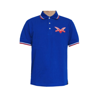 "Cock Sparrer ""England belongs to me"" Polo (blue)"