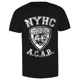 "Agnostic Front ""NYPD HC"" T-Shirt (black)"