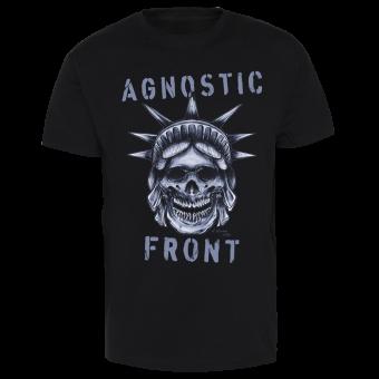 "Agnostic Front ""Statue Skull"" T-Shirt (black)"