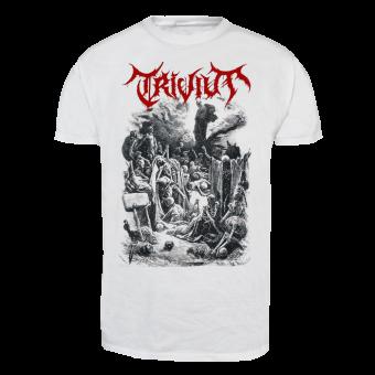 """Trivium """"Dry Bone"""" T-Shirt (white)"""