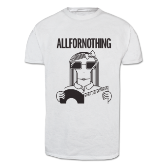 "All for Nothing ""Milo"" T-Shirt (white)"