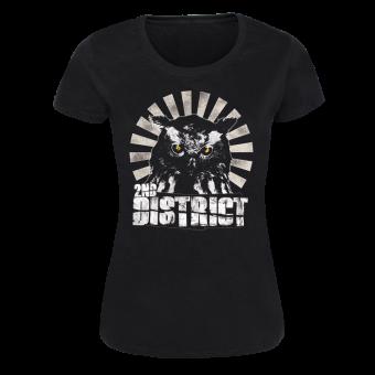"2nd District ""OWL"" Girly Shirt (black)"