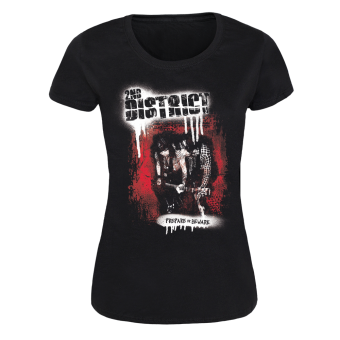 "2nd District ""Prepare or Beware"" Girly Shirt (black)"