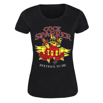 "Cock Sparrer ""Girona"" Girly Shirt (black)"