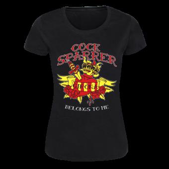 "Cock Sparrer ""Girona"" Girly Shirt (black)"