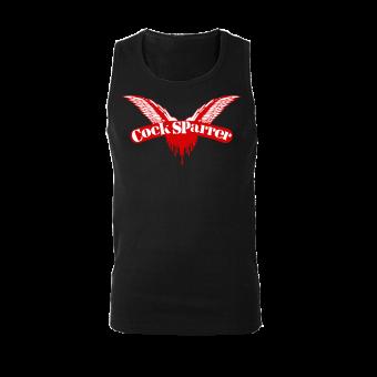 "Cock Sparrer ""Logo"" Wifebeater (black)"
