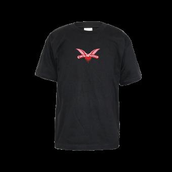 """Cock Sparrer """"Logo"""" Kids T-Shirt (black)"""