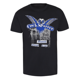 "Cock Sparrer ""Munich"" T-Shirt (black)"