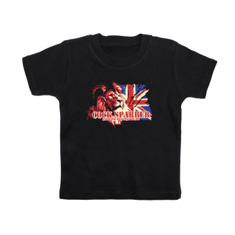 "Cock Sparrer ""England Belongs to me"" Kids T-Shirt (black)"