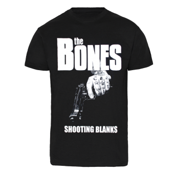 "The Bones ""Shooting Blanks"" T-Shirt (black)"