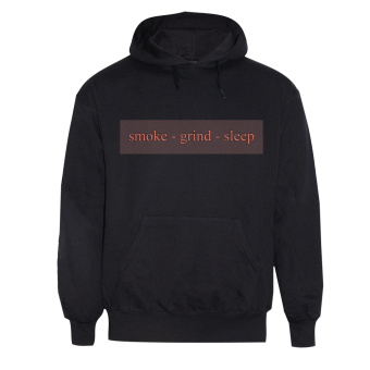"Brutal Truth ""Smoke,Grind Sleep"" Hoodie"